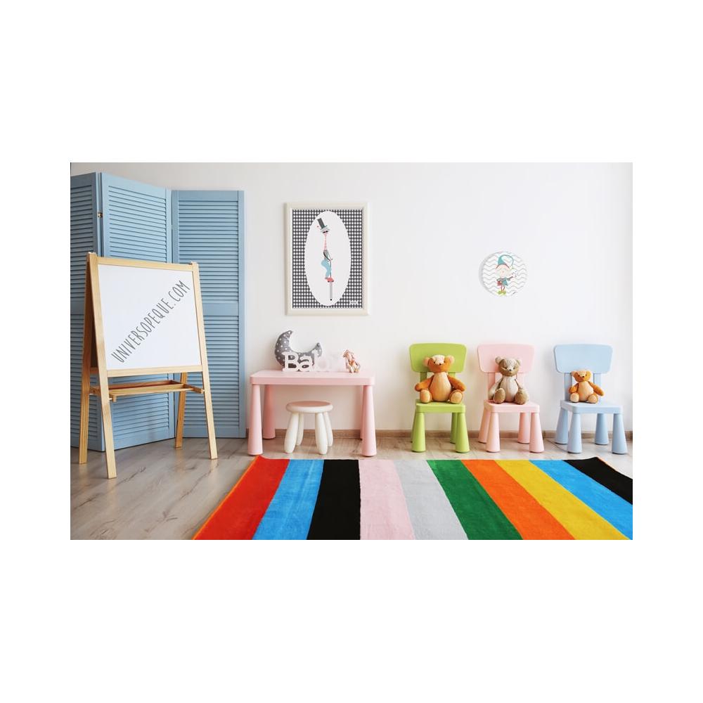 Cuadro redondo Trovador para la habitación de los Niños