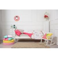 Cuadro Redondo Payaso rosa para decorar el dormitorio de los Niños