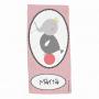 Toalla Personalizada Animal Elefante rosa