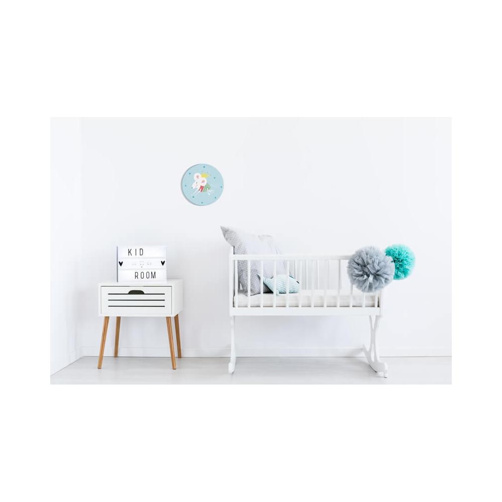 Vinilo Infantil Princesa azul vinilo de pared