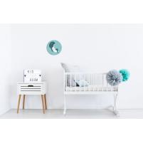 Vinilo Infantil Luna decorativo para el dormitorio del Bebé