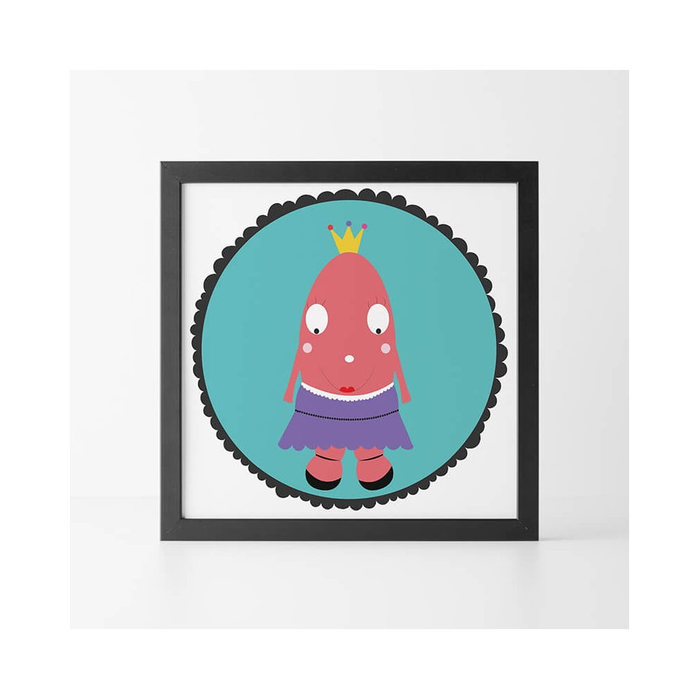 Lámina Infantil Ella para Niñas de universopeque.com