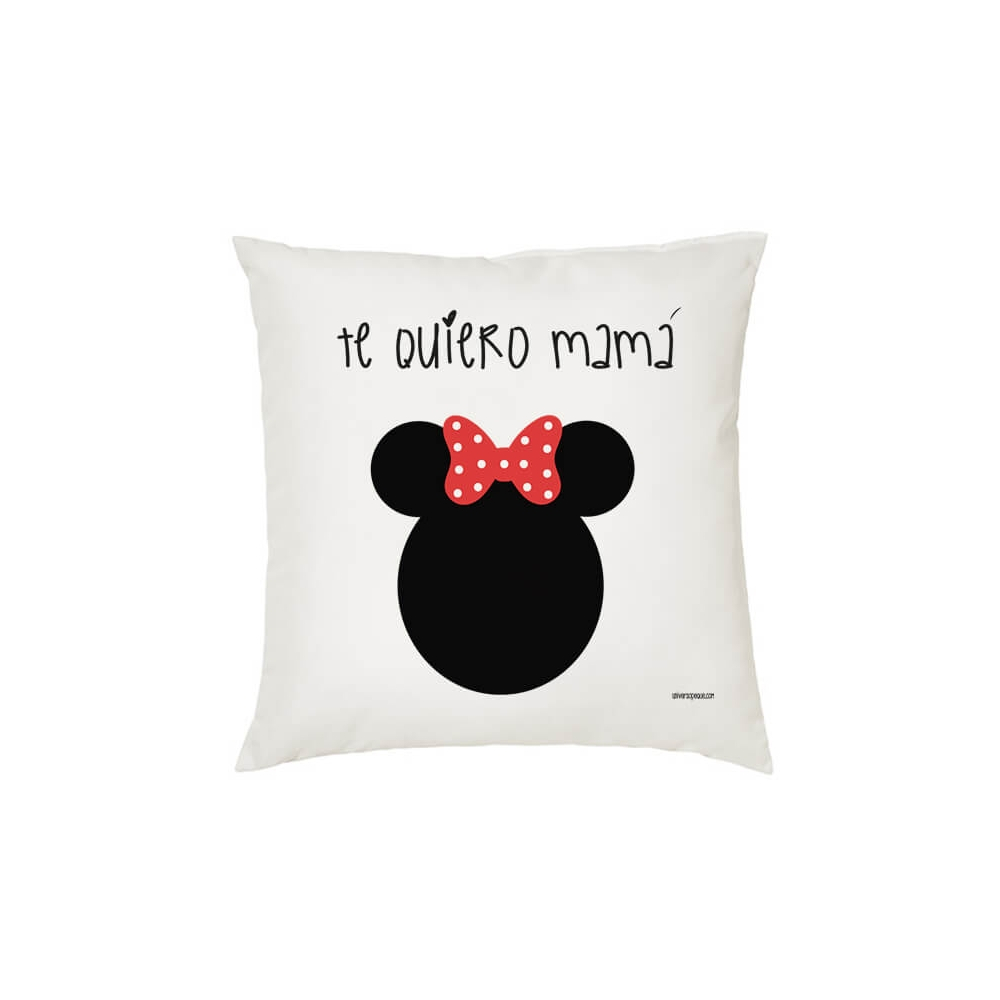 Cojín Personalizado Infantil Minnie. Cojines para Bebés, Niñas o también para Mamá.