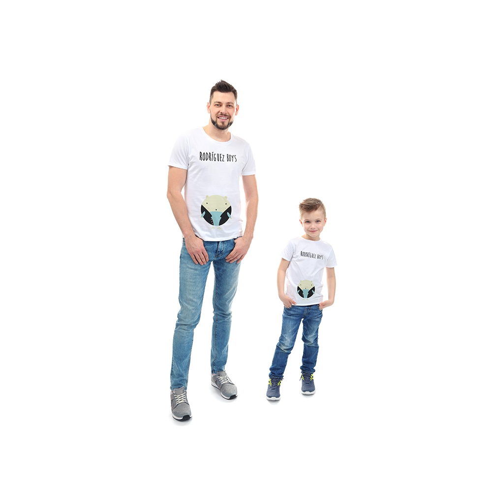 camisetas familiares para celebrar el dia del padre