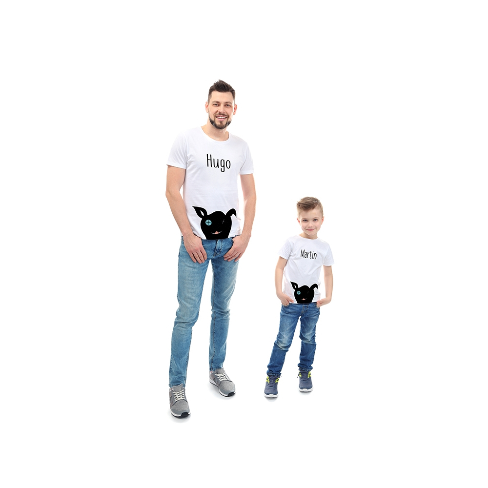camisetas iguales para el padre y el hijo