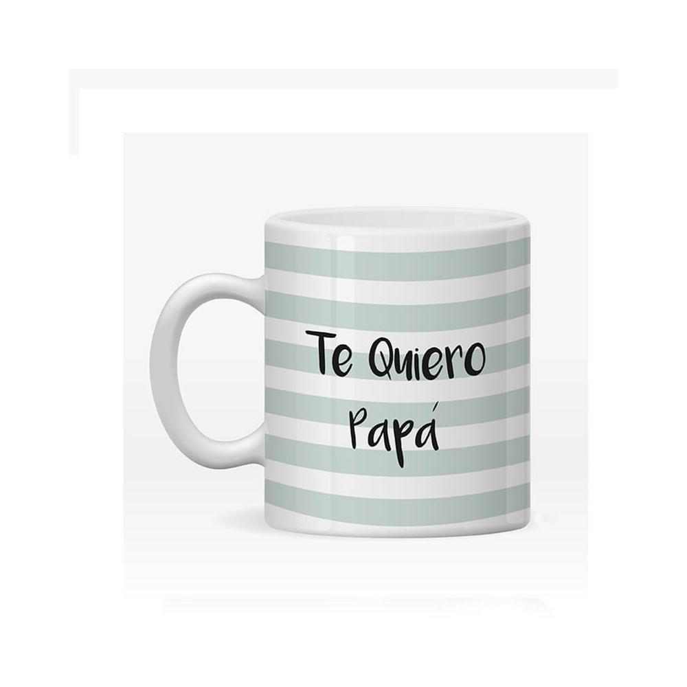 Taza Personalizada Papá Rayas Mint para el día del Padre.