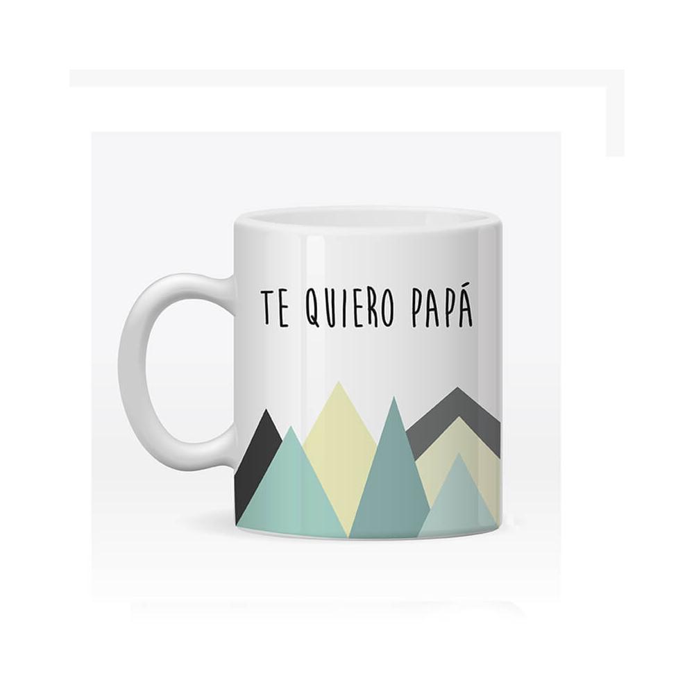 Taza Personalizada Papá Montañas. ¡El Día del Padre ya tiene su Regalo!