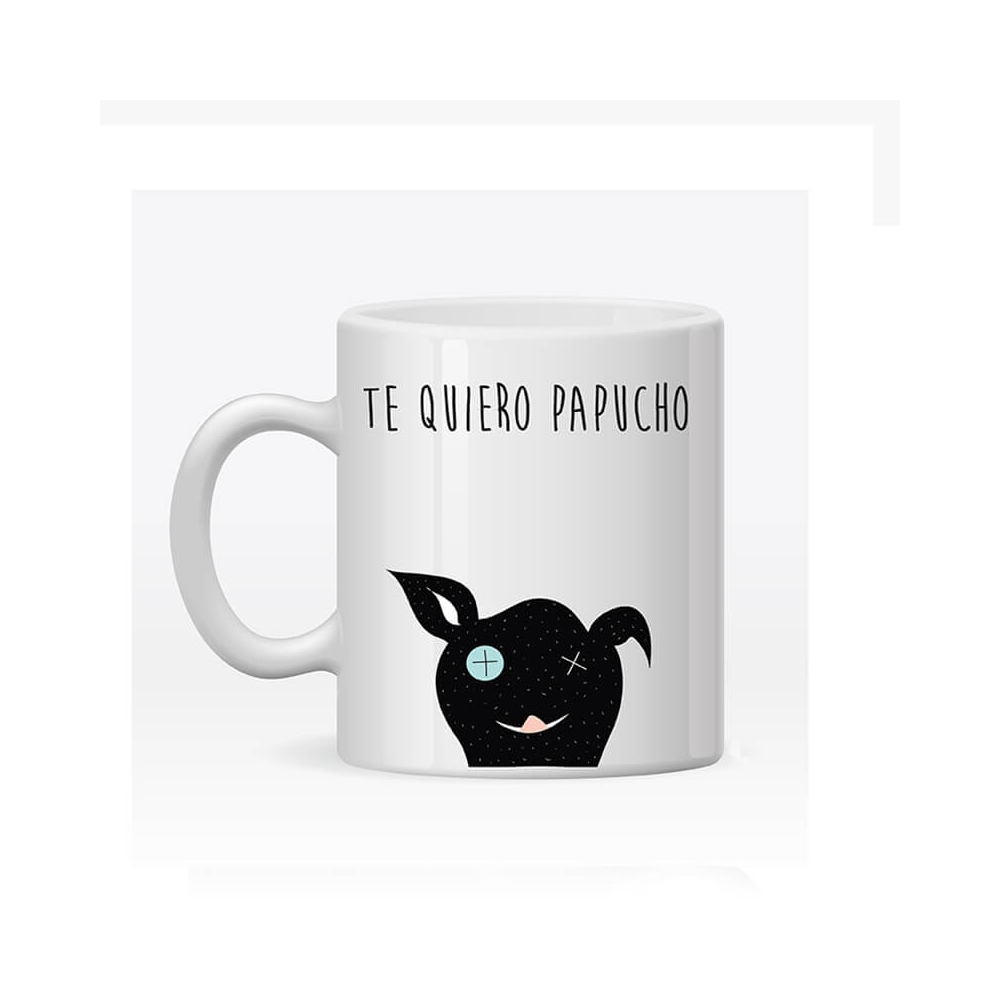 Taza Personalizada Papá Perro, Regalos para Papá.