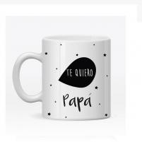 Taza Personalizada para Papá. Regalos para el Día del Padre, Cumpleaños etc.