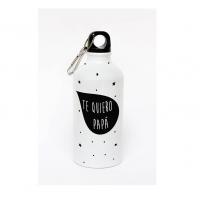 Botella de aluminio personalizada con mensaje para Papá