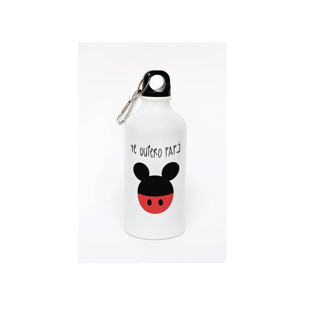 Botella de aluminio personalizada para Papá Mickey