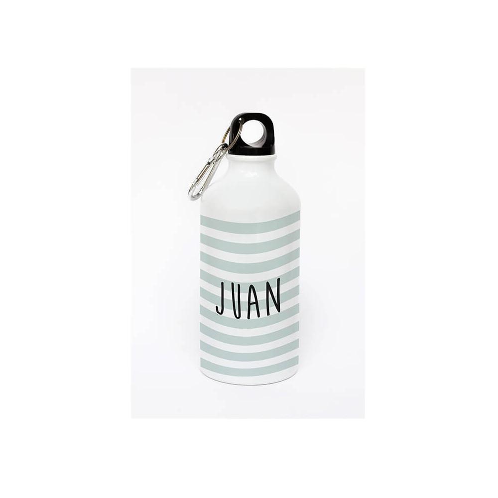 botella de aluminio personalizada con el nombre de Papá
