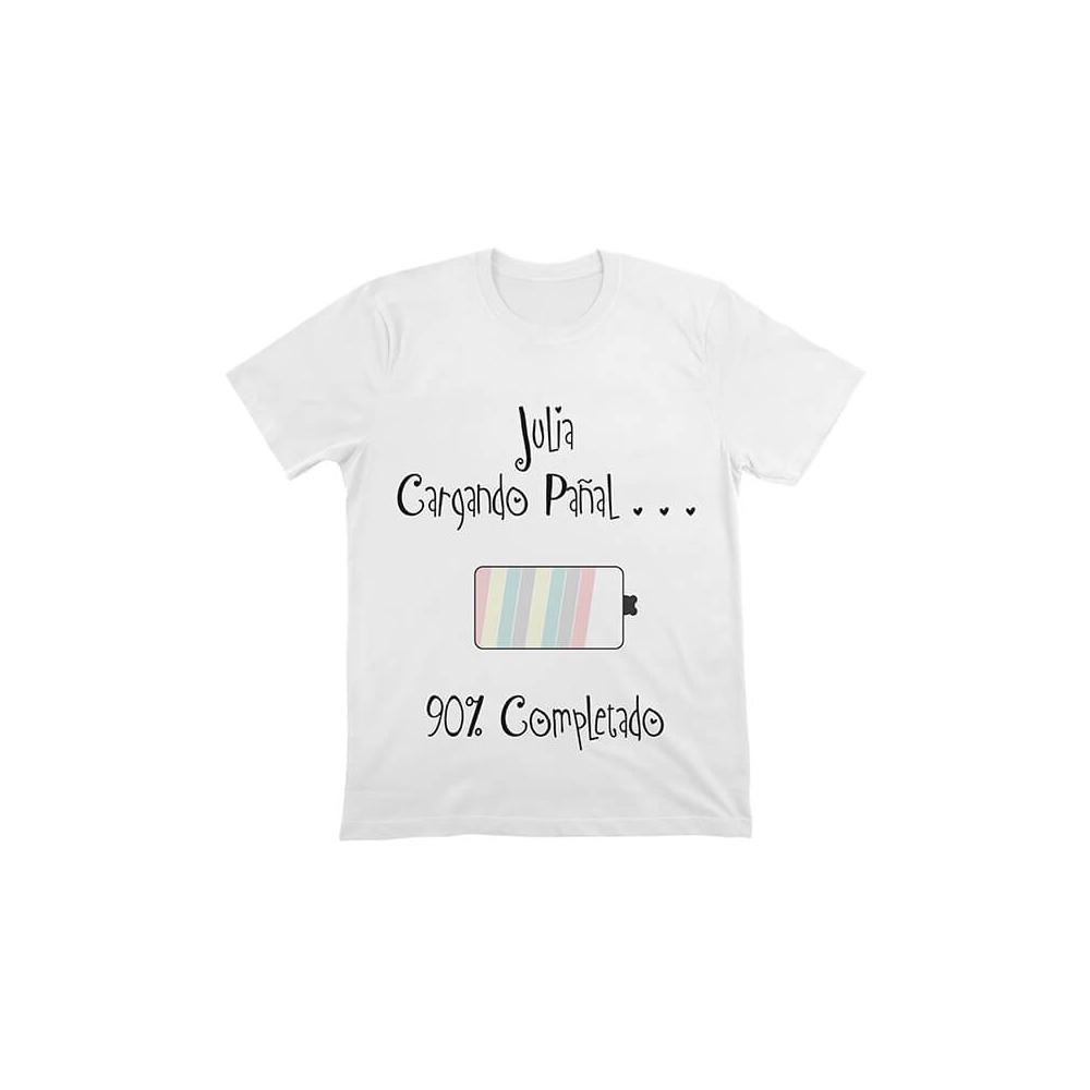 camiseta personalizada del pack de bienvenida