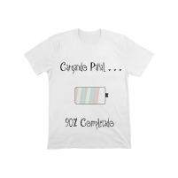 """Camiseta """"cargando pañal"""" del Pack de Bienvenido al Mundo"""