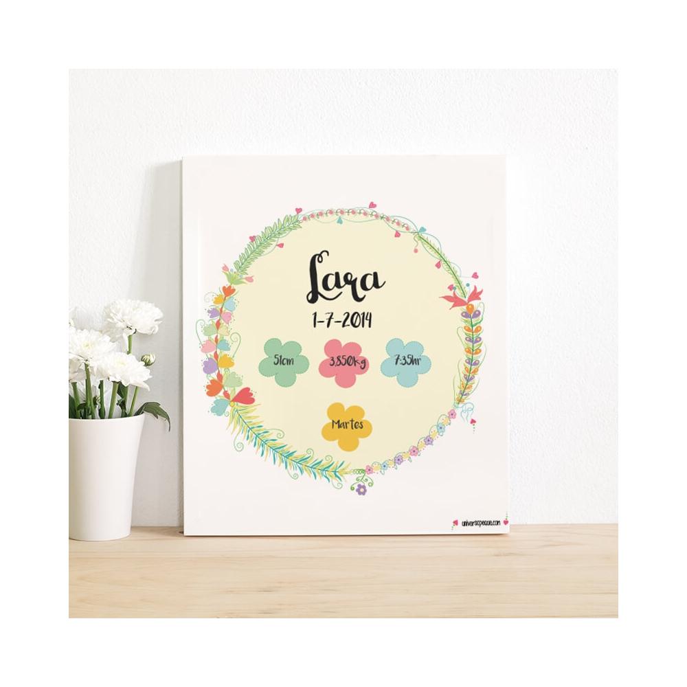 natalicio flores para niña