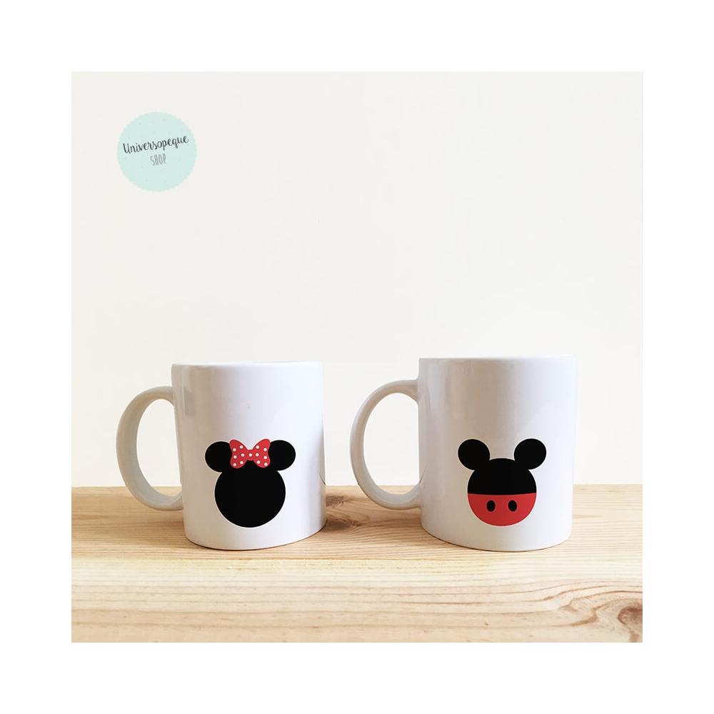 Taza Infantil Personalizada para regalar en la Primera Comunión Minie-Mickey