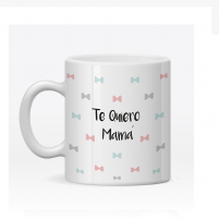 Taza Personalizada Lazos para Mamá