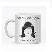 la taza personalizada mujer hermosa es un detalle bonito para madres hermosas