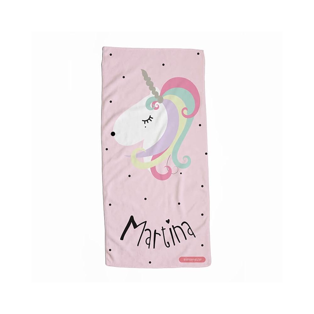 Toalla Personalizada Unicornio