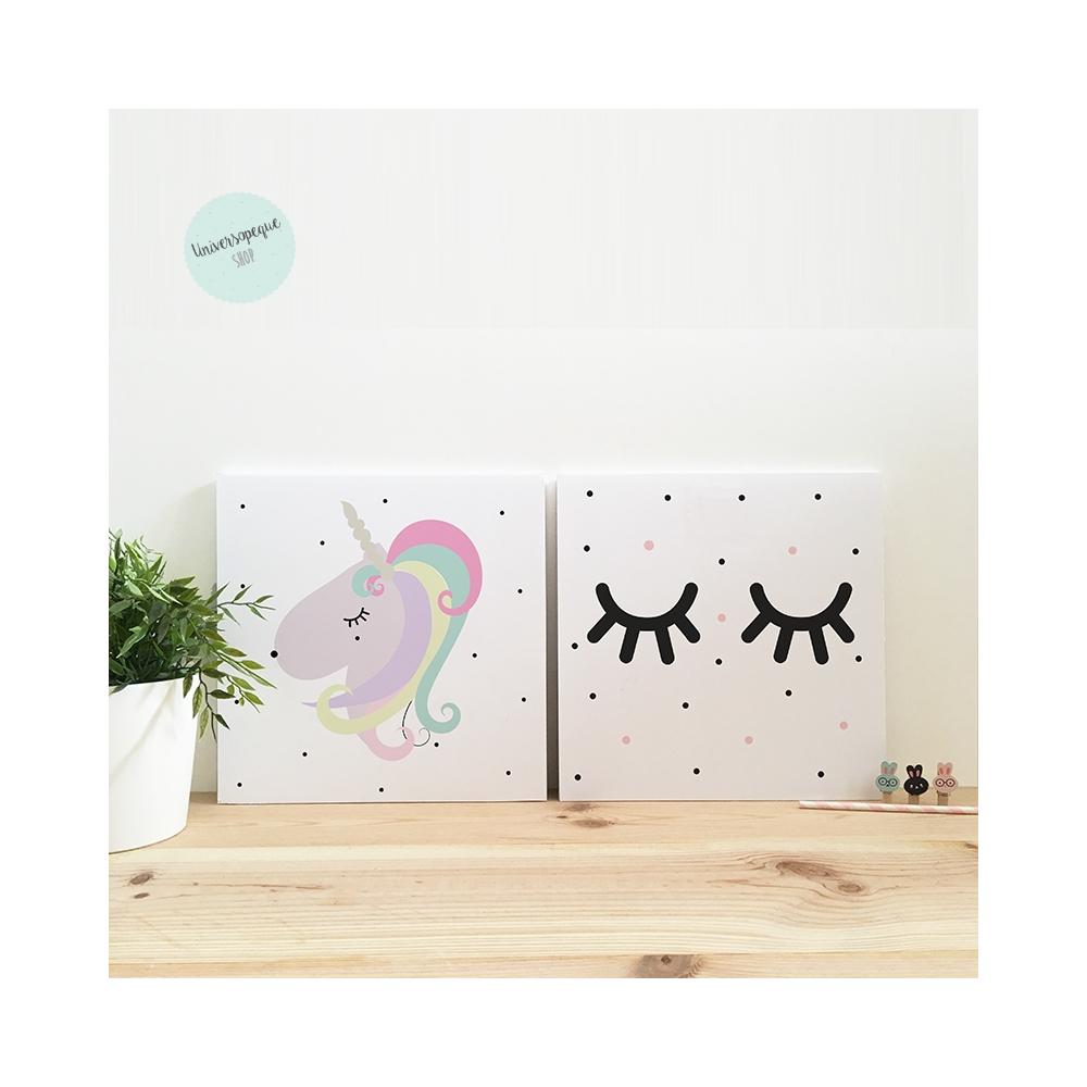 Pack Láminas Infantiles Unicornio