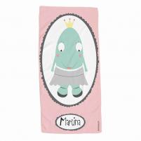 toalla infantil personalizada niña