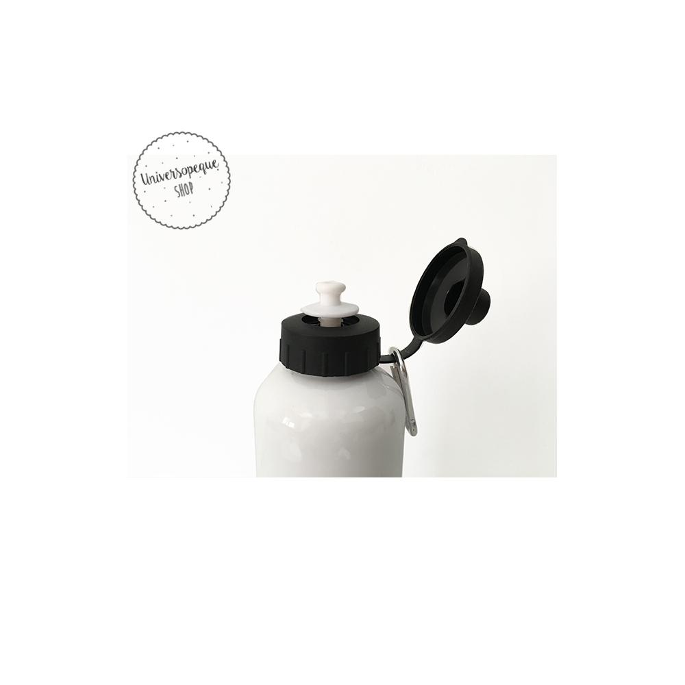 Botella Infantil Personalizada con el nombre del Rey o Reina que nos digas. Ideal para cualquier actividad o el día a día.