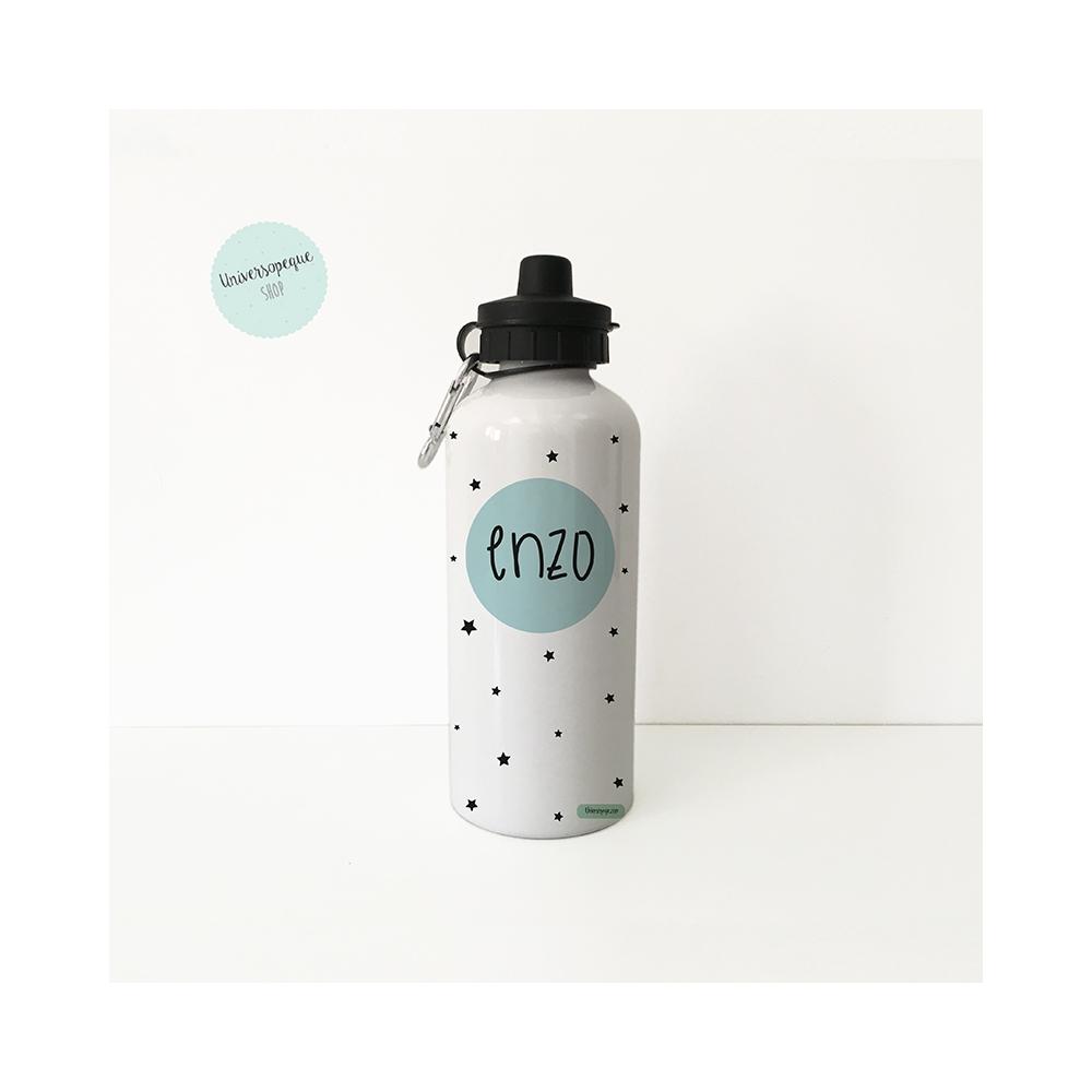 Botella Infantil personalizada de aluminio para niños