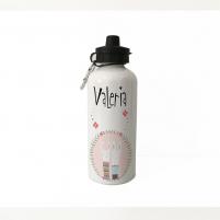 Botella personalizada de aluminio para el agua