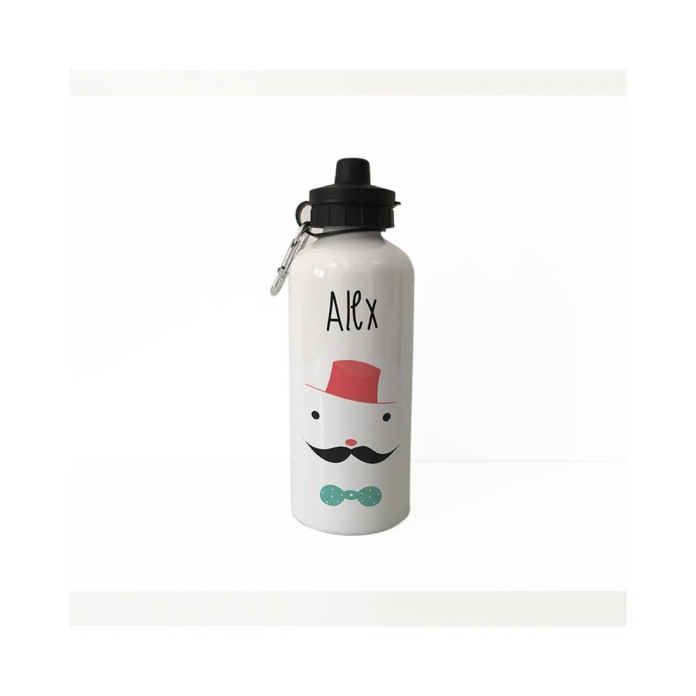 botella de aluminio personalizada caballero