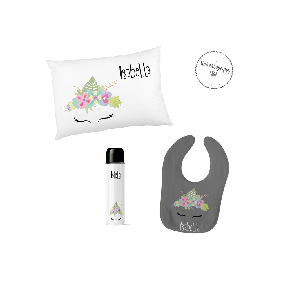 pack regalos para bebés personalizado y con el diseño de frida