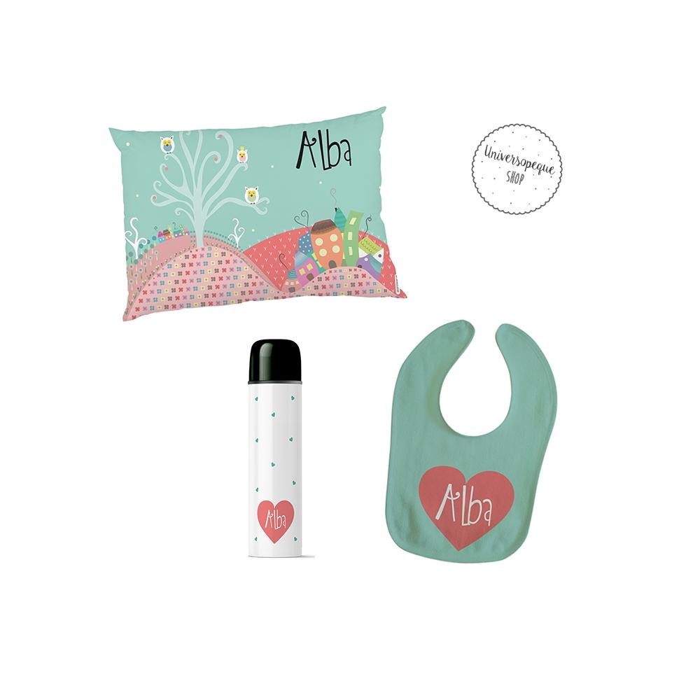 pack regalos para bebés personalizados estilo naif