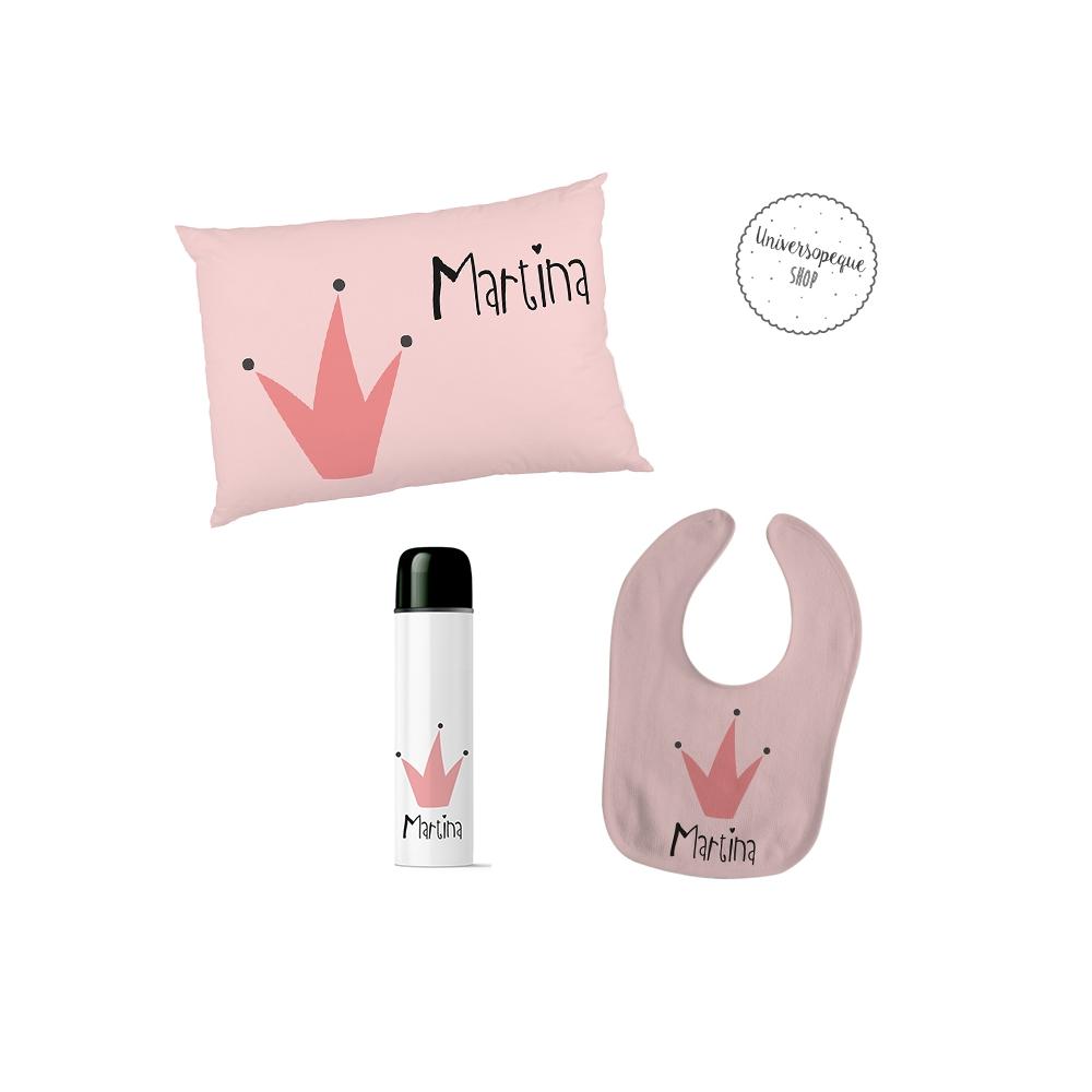 pack regalos para bebé personalizados reina