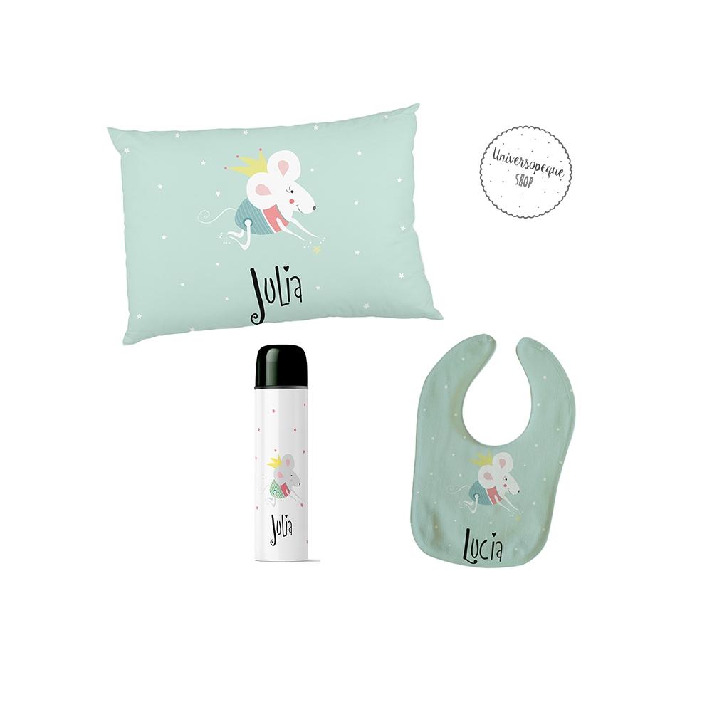 regalo para bebé personalizado ratita