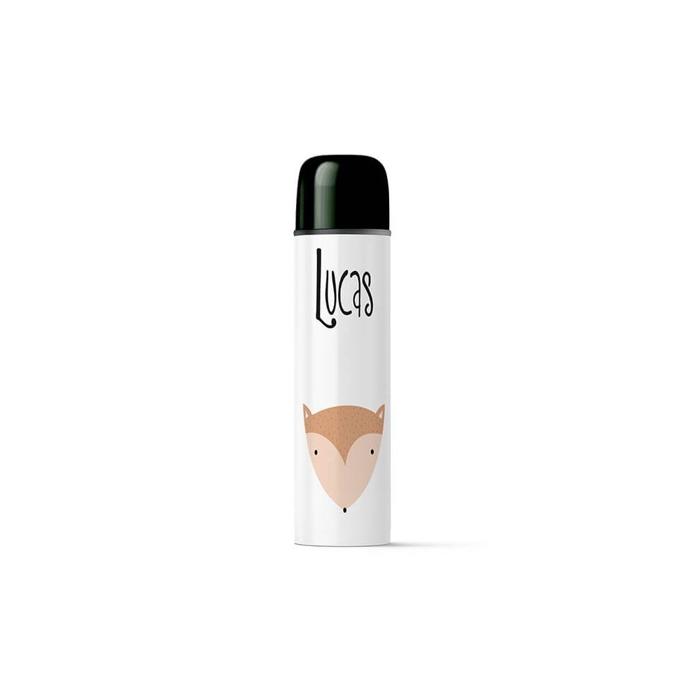 termo para liquidos diseño zorro