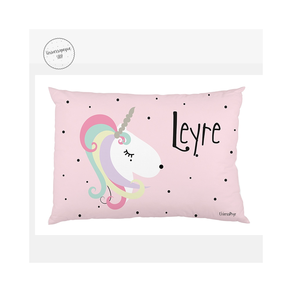 cojín personalizado unicornio