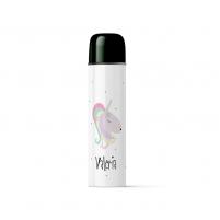 termo personalizado unicornio para mantener calentita la bebida