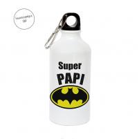 botella con tapón de rosca batman para papa
