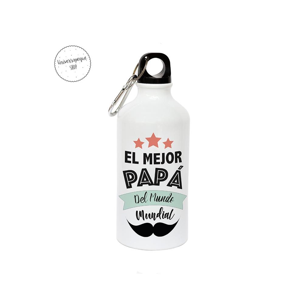 Botella de metal para papa