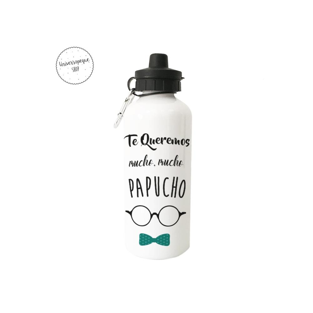 Botella de metal para papá personalizada