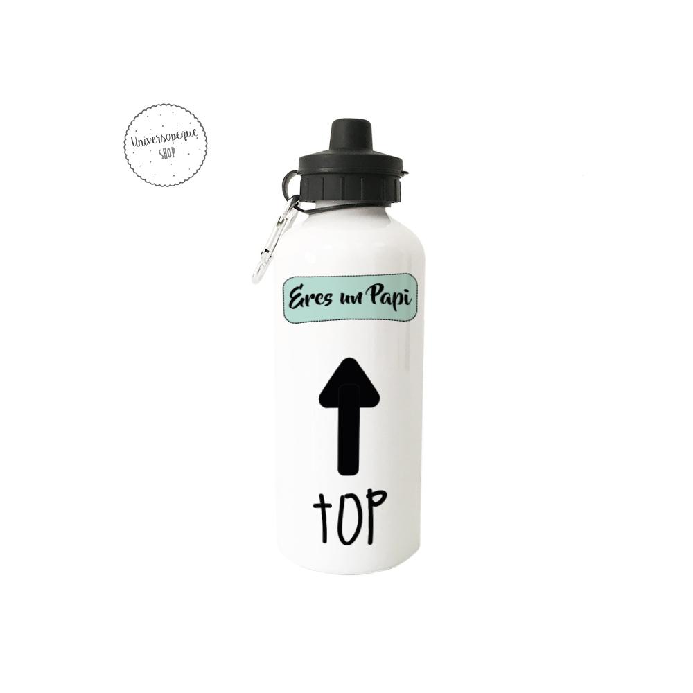 Botella para Papá con un mensaje TOP