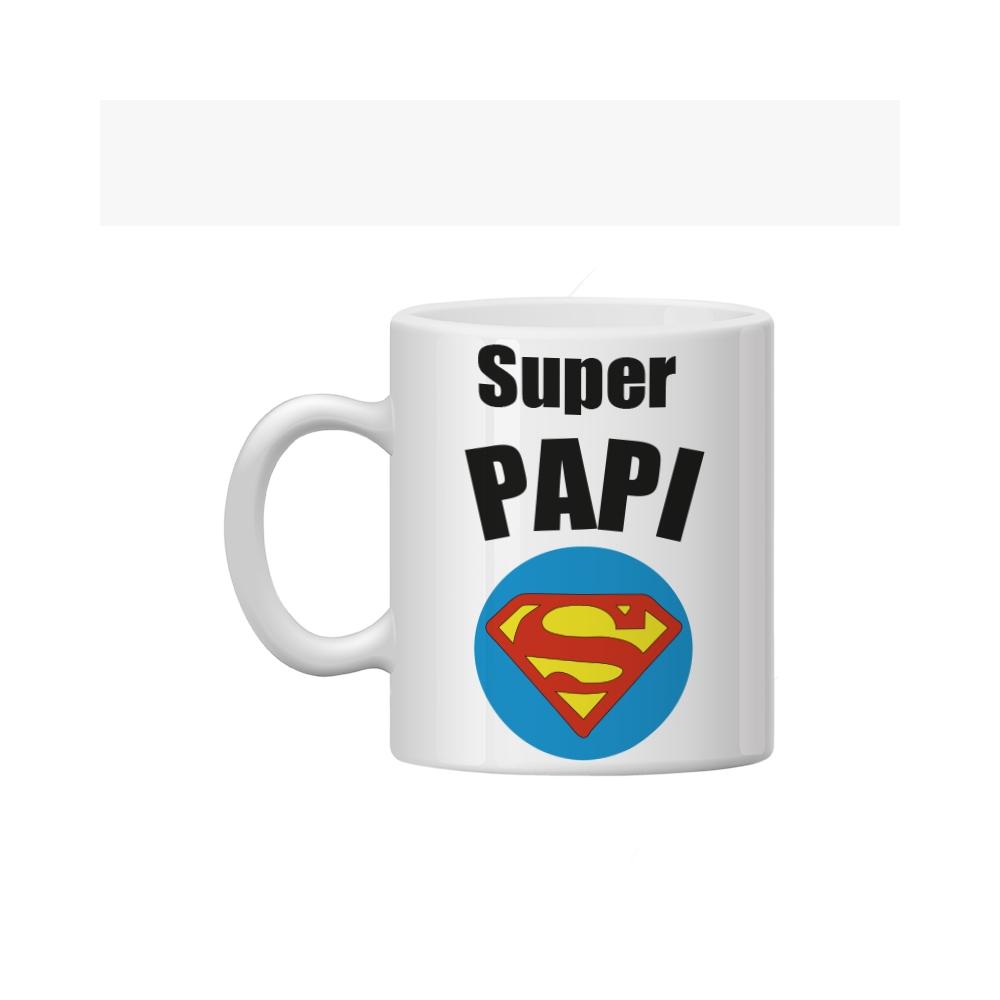 TAZA personalizada superman papa