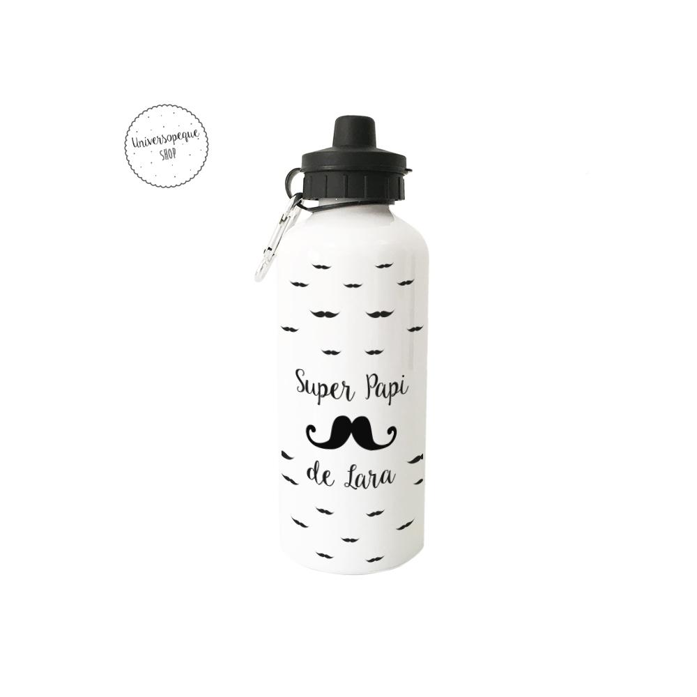 Boetlla personalizada bigotes para papa