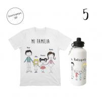 pack regalitos para papá dibujo familia