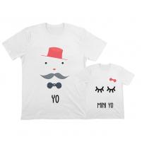 camiseta personalizadaigual apra papi e hija