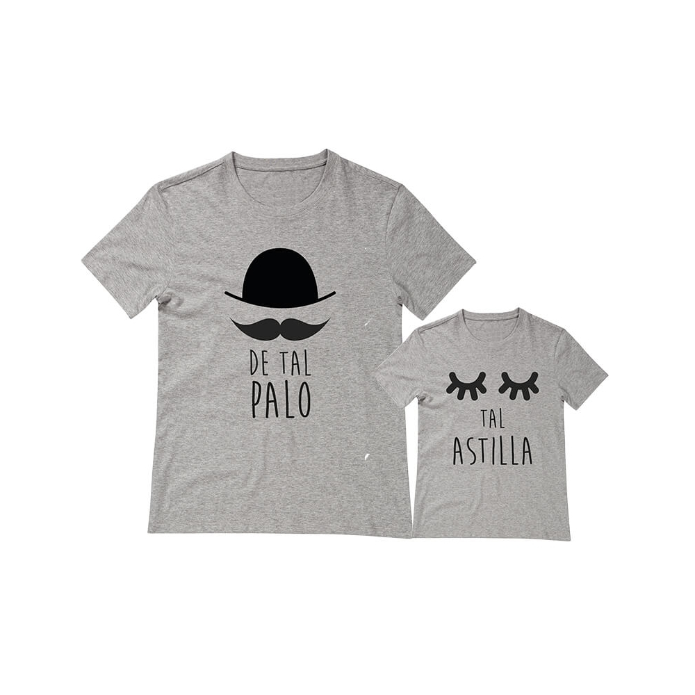 camisetas iguales para padres e hij@s