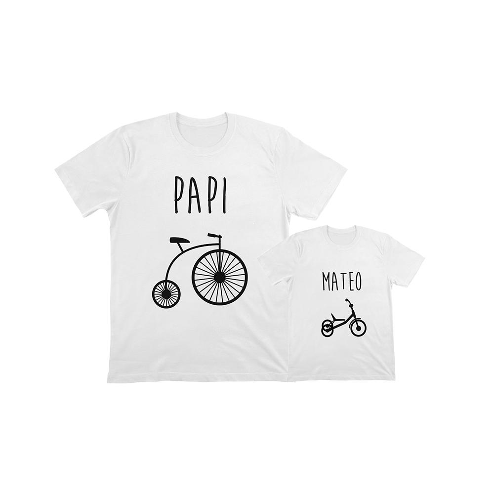 camisetas para vestir igual padres e hijos