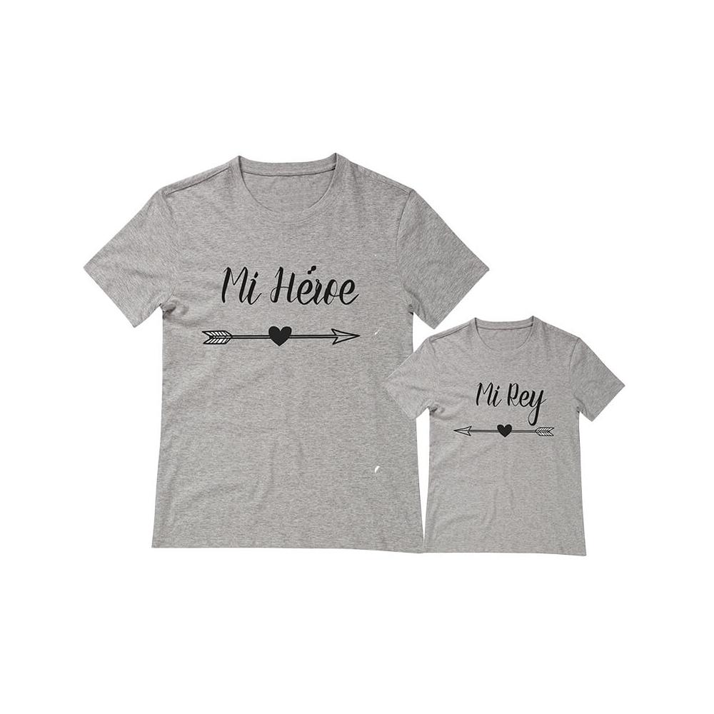 camisetas iguales para regalar a papi o mami