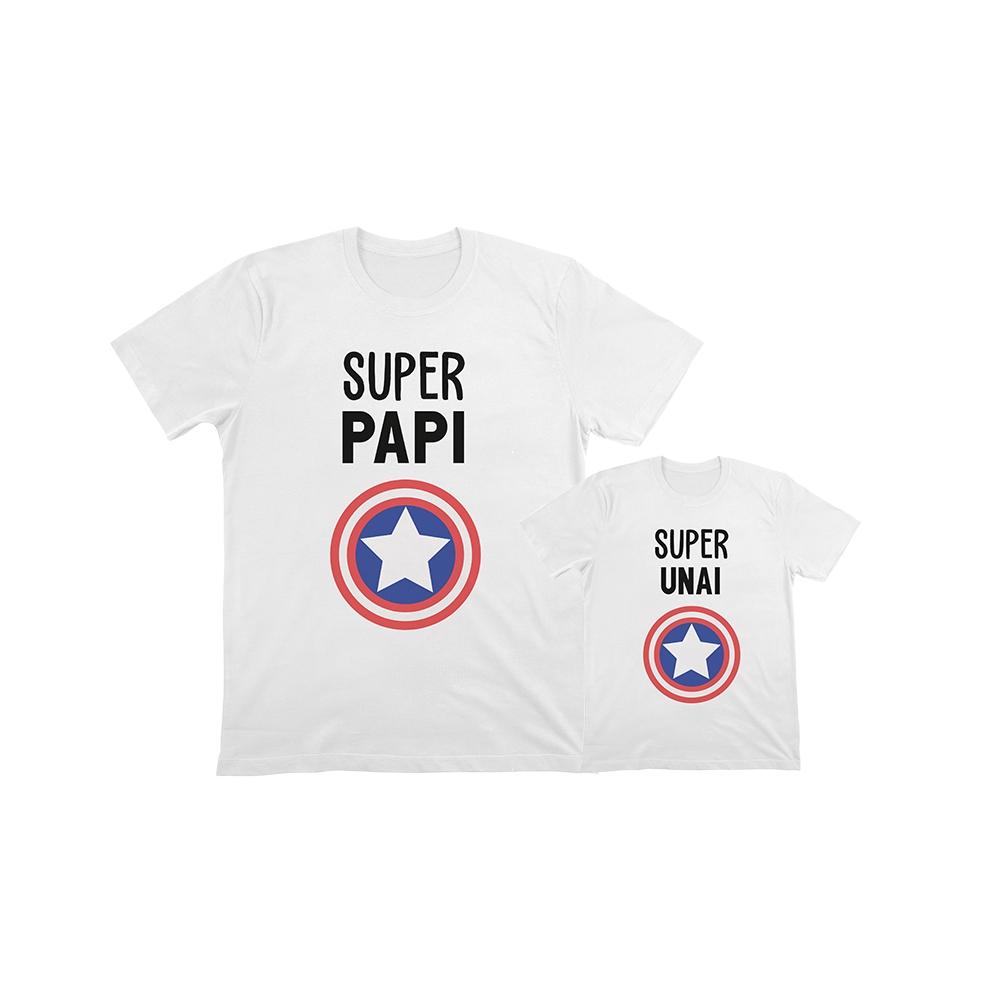 camisetas personalizadas iguales capitan america