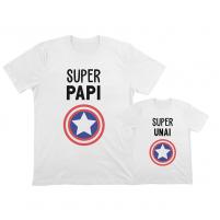camisetas iguales para papá e hijo
