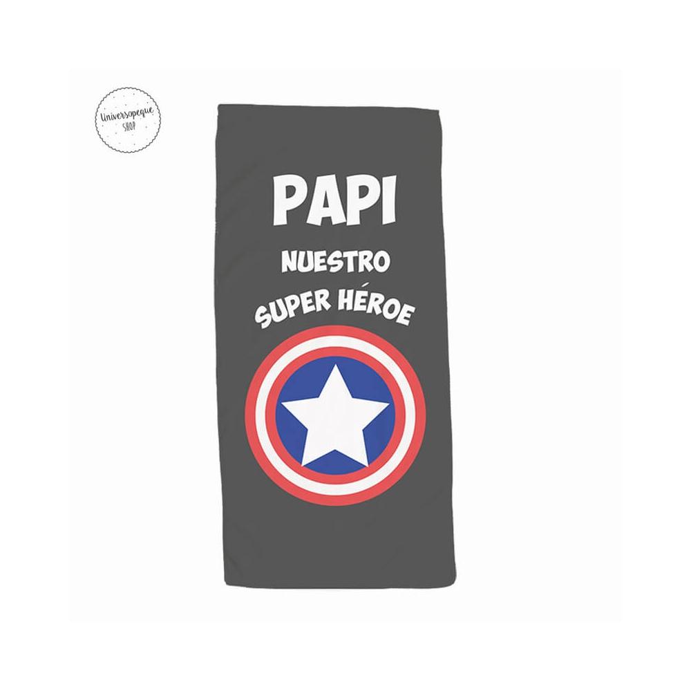 Toalla Papá Capitán América